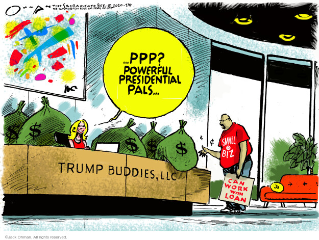 Jack Ohman  Jack Ohman's Editorial Cartoons 2020-07-09 editorial