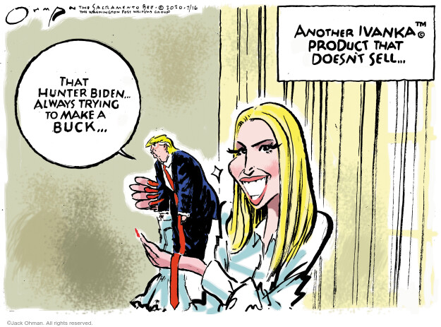 Jack Ohman  Jack Ohman's Editorial Cartoons 2020-07-16 Trump administration