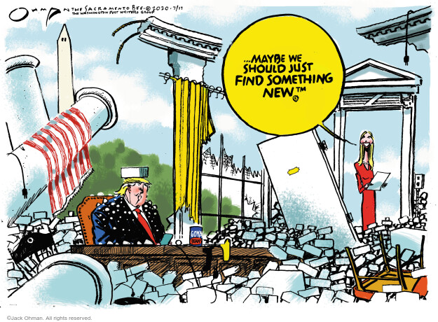 Jack Ohman  Jack Ohman's Editorial Cartoons 2020-07-17 unemployment