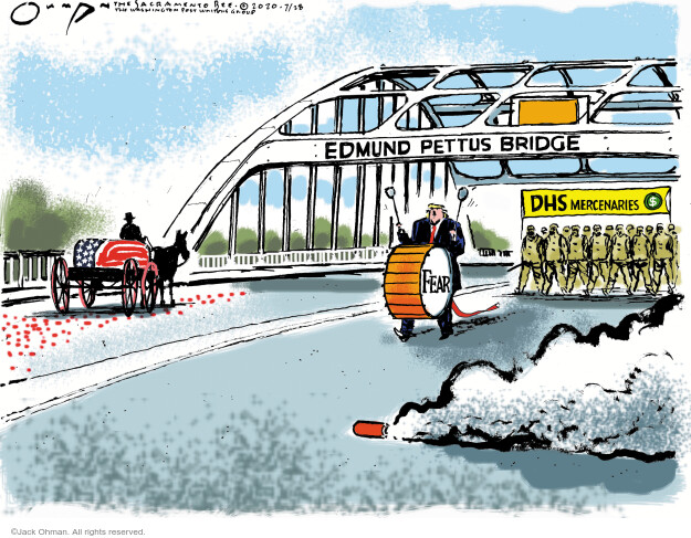 Jack Ohman  Jack Ohman's Editorial Cartoons 2020-07-28 civil rights