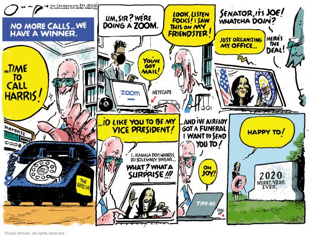 Jack Ohman  Jack Ohman's Editorial Cartoons 2020-08-16 president