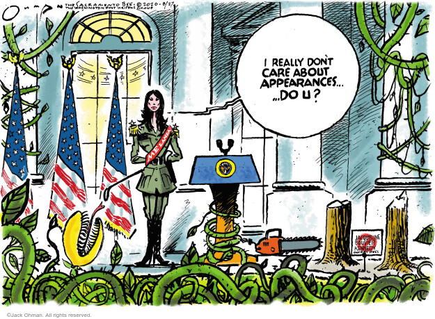 Jack Ohman  Jack Ohman's Editorial Cartoons 2020-08-27 Donald Trump