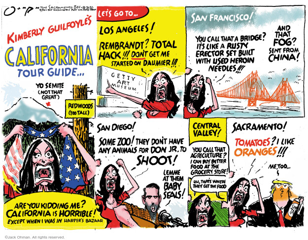 Jack Ohman  Jack Ohman's Editorial Cartoons 2020-08-30 2020 election