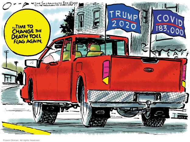 Jack Ohman  Jack Ohman's Editorial Cartoons 2020-09-01 voter