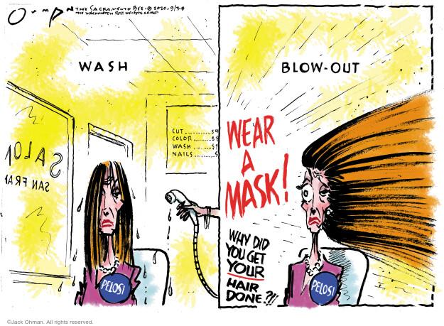 Jack Ohman  Jack Ohman's Editorial Cartoons 2020-09-03 politics