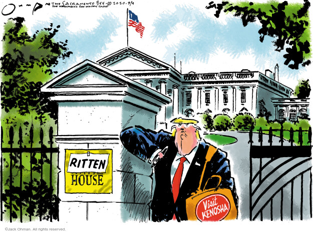 Jack Ohman  Jack Ohman's Editorial Cartoons 2020-09-04 Donald Trump