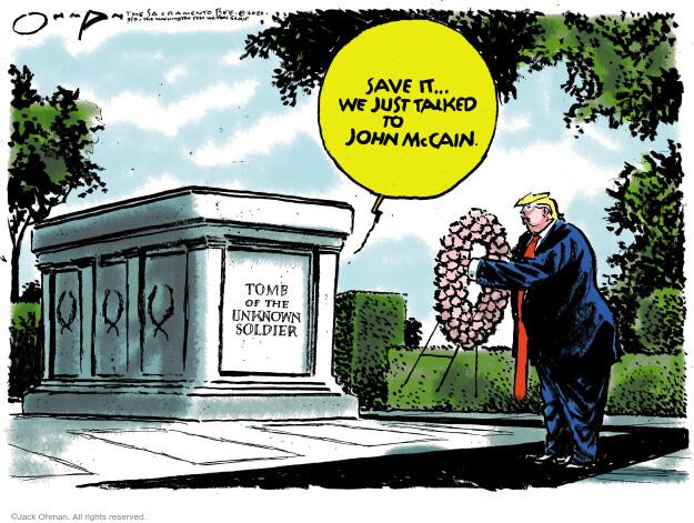 Jack Ohman  Jack Ohman's Editorial Cartoons 2020-09-09 Donald