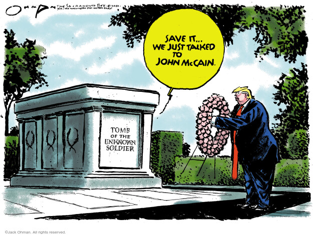 Jack Ohman  Jack Ohman's Editorial Cartoons 2020-09-09 Presidency