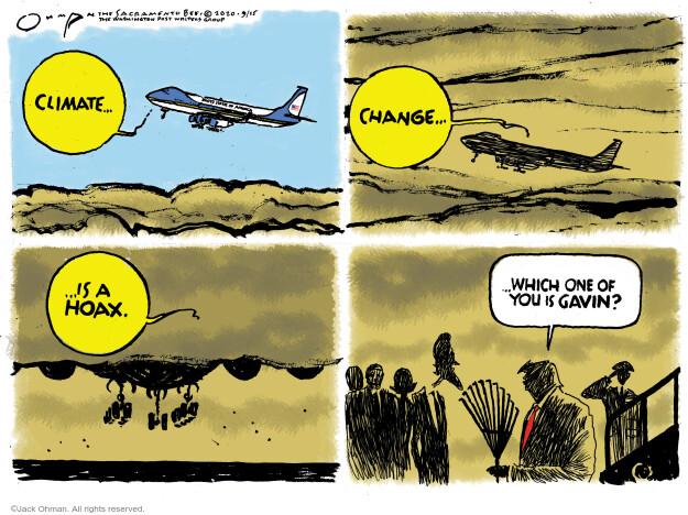 Jack Ohman  Jack Ohman's Editorial Cartoons 2020-09-15 Presidency