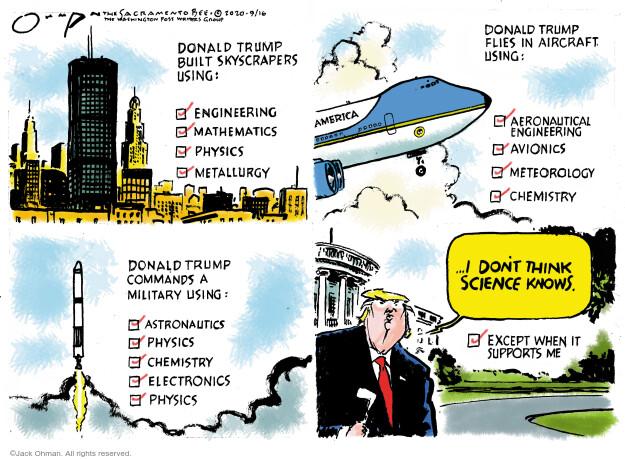 Jack Ohman  Jack Ohman's Editorial Cartoons 2020-09-16 Presidency