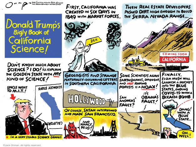 Jack Ohman  Jack Ohman's Editorial Cartoons 2020-09-20 Obama administration