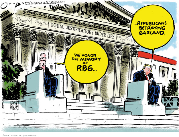 Jack Ohman  Jack Ohman's Editorial Cartoons 2020-09-22 2016 Election Donald Trump