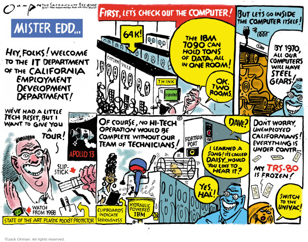 Jack Ohman  Jack Ohman's Editorial Cartoons 2020-09-27 unemployment