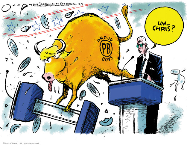 Jack Ohman  Jack Ohman's Editorial Cartoons 2020-10-01 Donald
