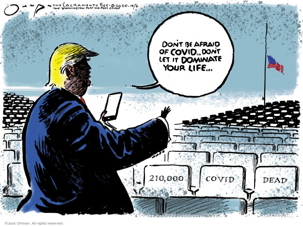 Jack Ohman  Jack Ohman's Editorial Cartoons 2020-10-06 Donald