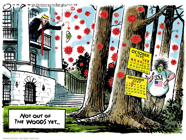 Jack Ohman  Jack Ohman's Editorial Cartoons 2020-10-08 Donald