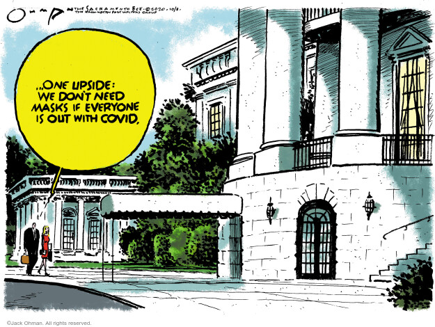 Jack Ohman  Jack Ohman's Editorial Cartoons 2020-10-09 Donald