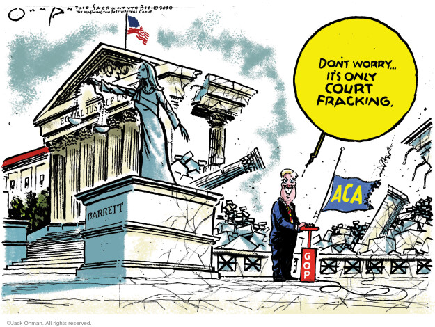 Jack Ohman  Jack Ohman's Editorial Cartoons 2020-10-13 politics