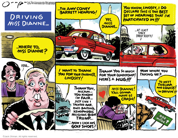 Jack Ohman  Jack Ohman's Editorial Cartoons 2020-10-18 Donald