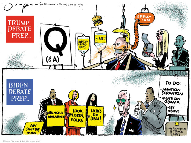 Jack Ohman  Jack Ohman's Editorial Cartoons 2020-10-22 Donald