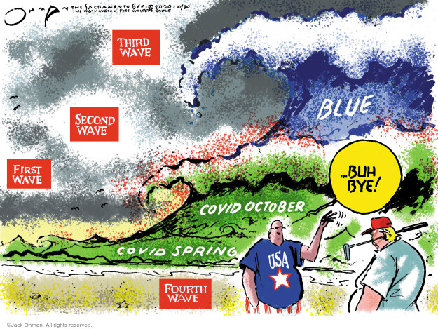 Jack Ohman  Jack Ohman's Editorial Cartoons 2020-10-30 Donald
