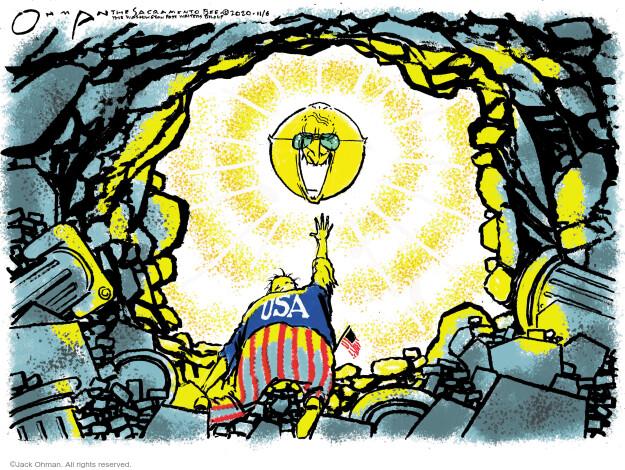 Jack Ohman  Jack Ohman's Editorial Cartoons 2020-11-07 president