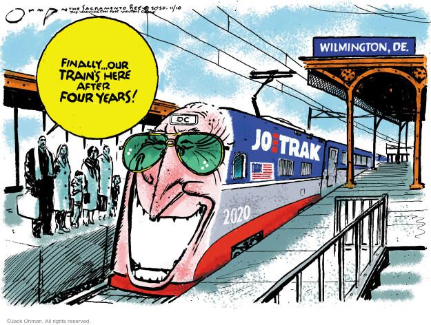 Jack Ohman  Jack Ohman's Editorial Cartoons 2020-11-10 our