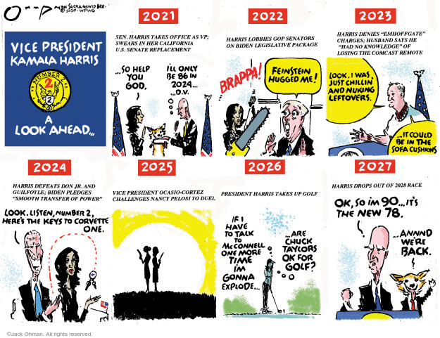 Jack Ohman  Jack Ohman's Editorial Cartoons 2020-11-15 number one