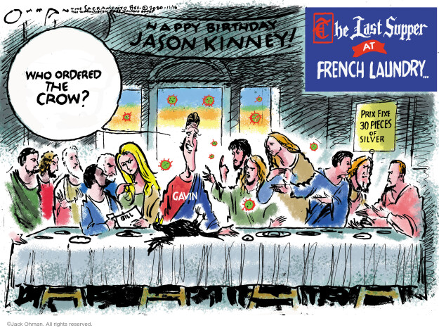 Jack Ohman  Jack Ohman's Editorial Cartoons 2020-11-17 Jack