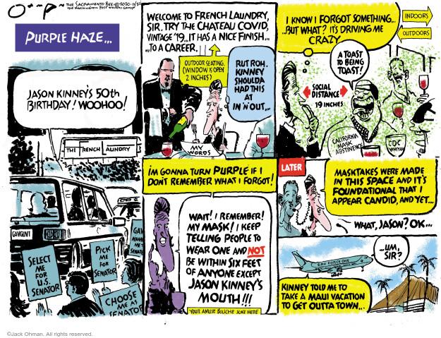 Jack Ohman  Jack Ohman's Editorial Cartoons 2020-11-22 Jack