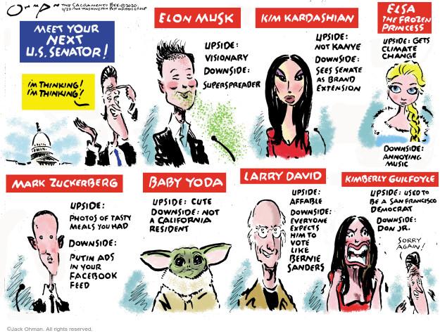 Jack Ohman  Jack Ohman's Editorial Cartoons 2020-11-29 Donald Trump