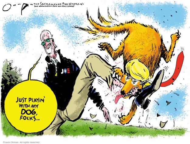 Jack Ohman  Jack Ohman's Editorial Cartoons 2020-12-01 Jack