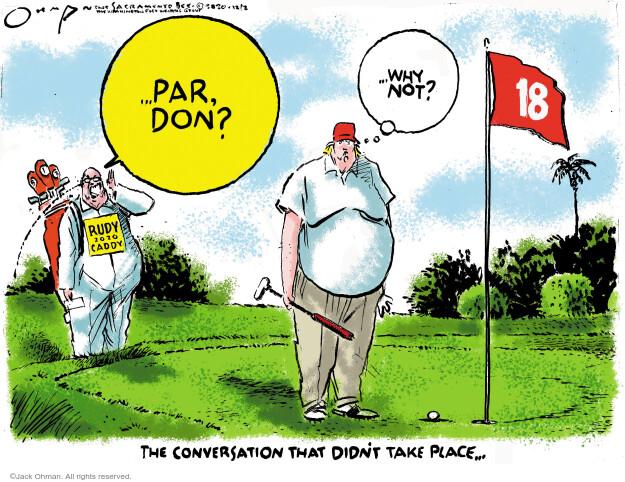Jack Ohman  Jack Ohman's Editorial Cartoons 2020-12-02 Donald Trump