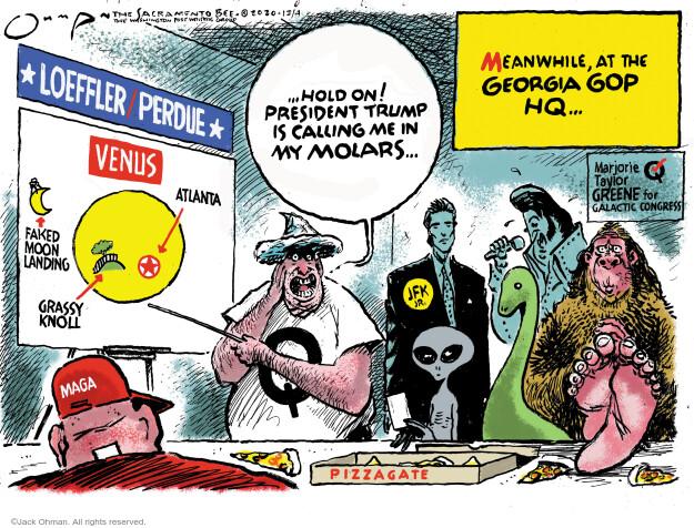 Jack Ohman  Jack Ohman's Editorial Cartoons 2020-12-04 John Kennedy