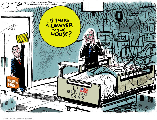 Jack Ohman  Jack Ohman's Editorial Cartoons 2020-12-08 emergency