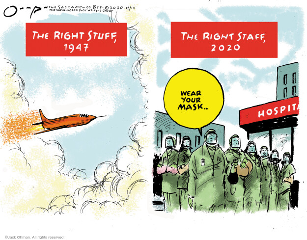 Jack Ohman  Jack Ohman's Editorial Cartoons 2020-12-09 public health
