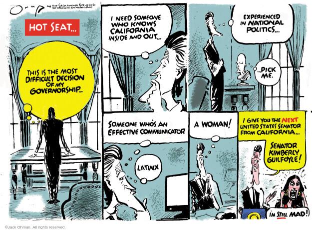 Jack Ohman  Jack Ohman's Editorial Cartoons 2020-12-19 Kamala Harris