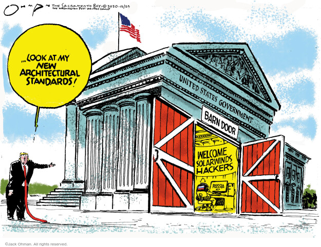 Jack Ohman  Jack Ohman's Editorial Cartoons 2020-12-23 Donald Trump