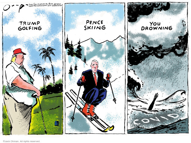 Jack Ohman  Jack Ohman's Editorial Cartoons 2020-12-29 public health