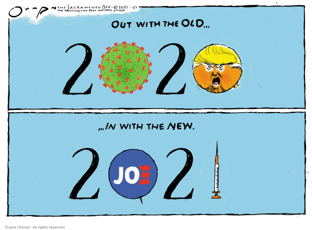 Jack Ohman  Jack Ohman's Editorial Cartoons 2021-01-01 Donald Trump