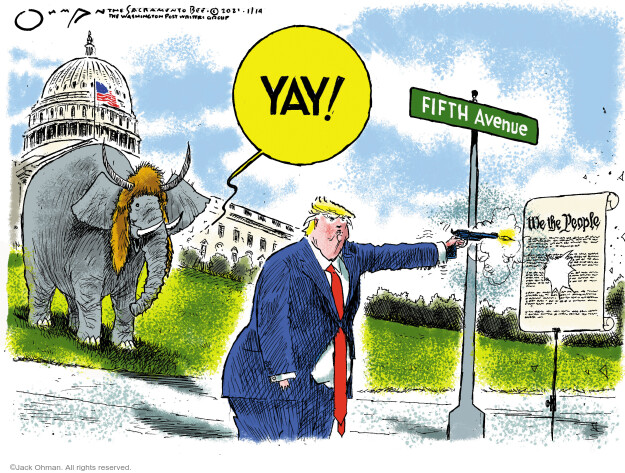 Jack Ohman  Jack Ohman's Editorial Cartoons 2021-01-14 2020 election Donald Trump
