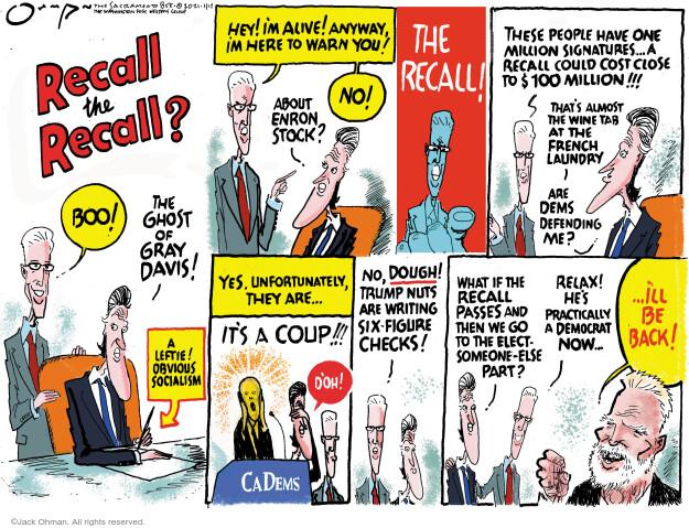 Jack Ohman  Jack Ohman's Editorial Cartoons 2021-01-17 Jack