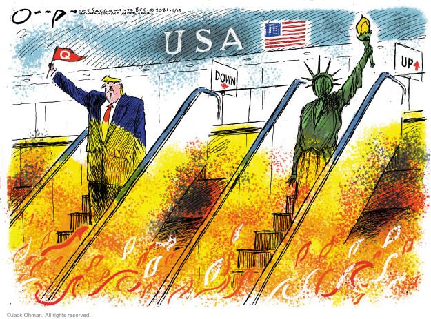 Jack Ohman  Jack Ohman's Editorial Cartoons 2021-01-19 Jack