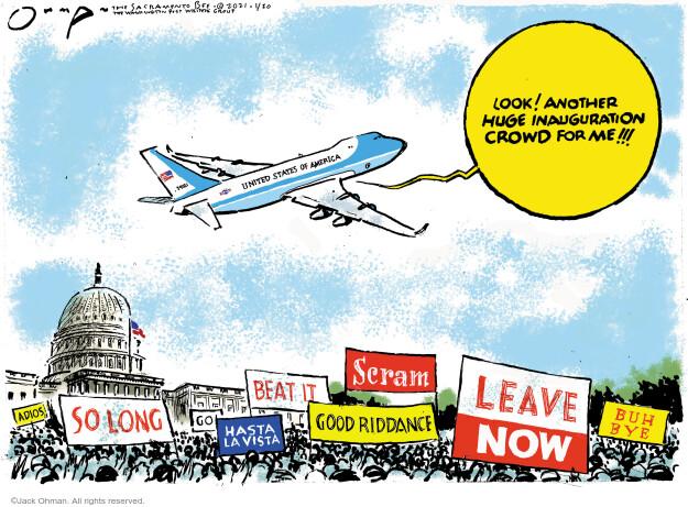 Jack Ohman  Jack Ohman's Editorial Cartoons 2021-01-20 Jack