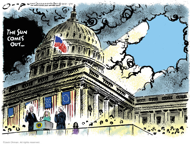 Jack Ohman  Jack Ohman's Editorial Cartoons 2021-01-21 Jack