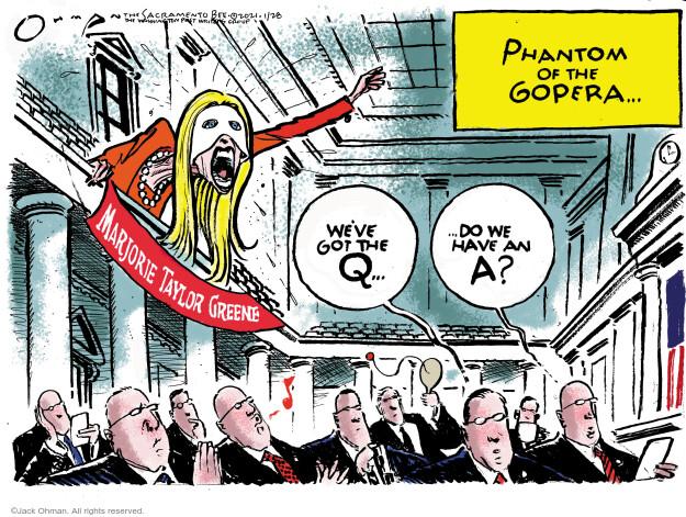 Jack Ohman  Jack Ohman's Editorial Cartoons 2021-01-28 political party