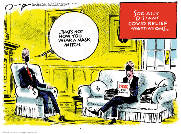 Jack Ohman  Jack Ohman's Editorial Cartoons 2021-02-10 public health