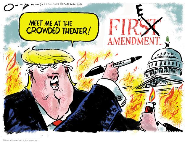 Jack Ohman  Jack Ohman's Editorial Cartoons 2021-02-12 senate