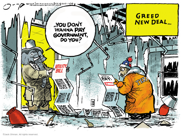 Jack Ohman  Jack Ohman's Editorial Cartoons 2021-02-23 bill