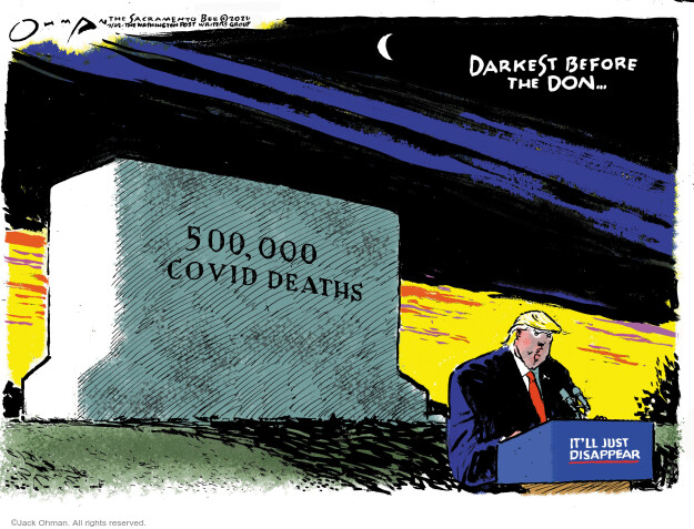 Jack Ohman  Jack Ohman's Editorial Cartoons 2021-02-24 public health